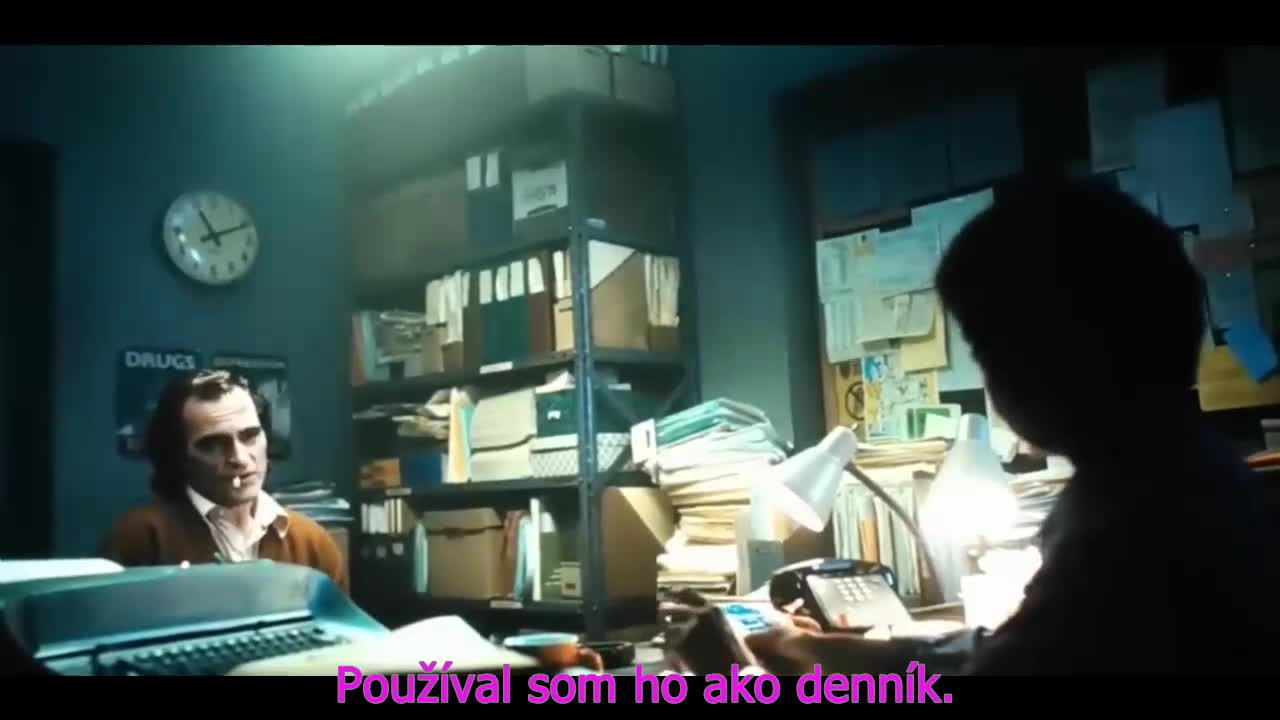 Joker 2019 CZ tit v obraze 720p HDTS 900MB x264 Thriller Novinka