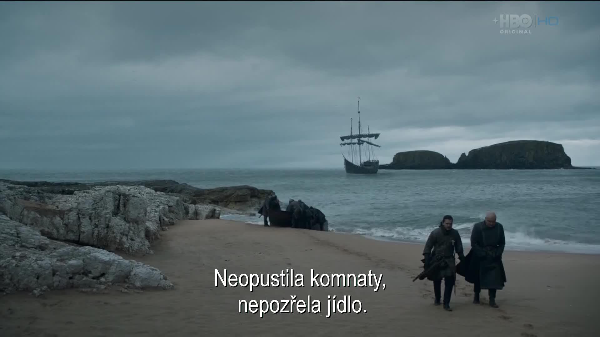 Hra o truny S08E05 CZ titulky HD