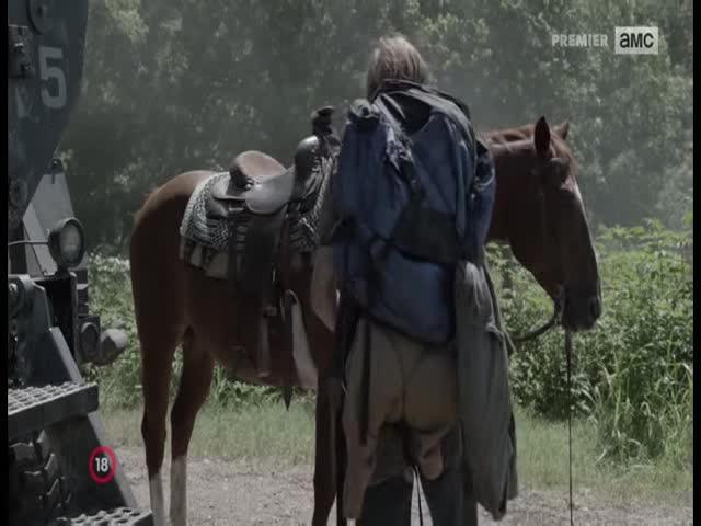 Zivi mrtvi Pocatek konce S05E16 CZ dabing  2